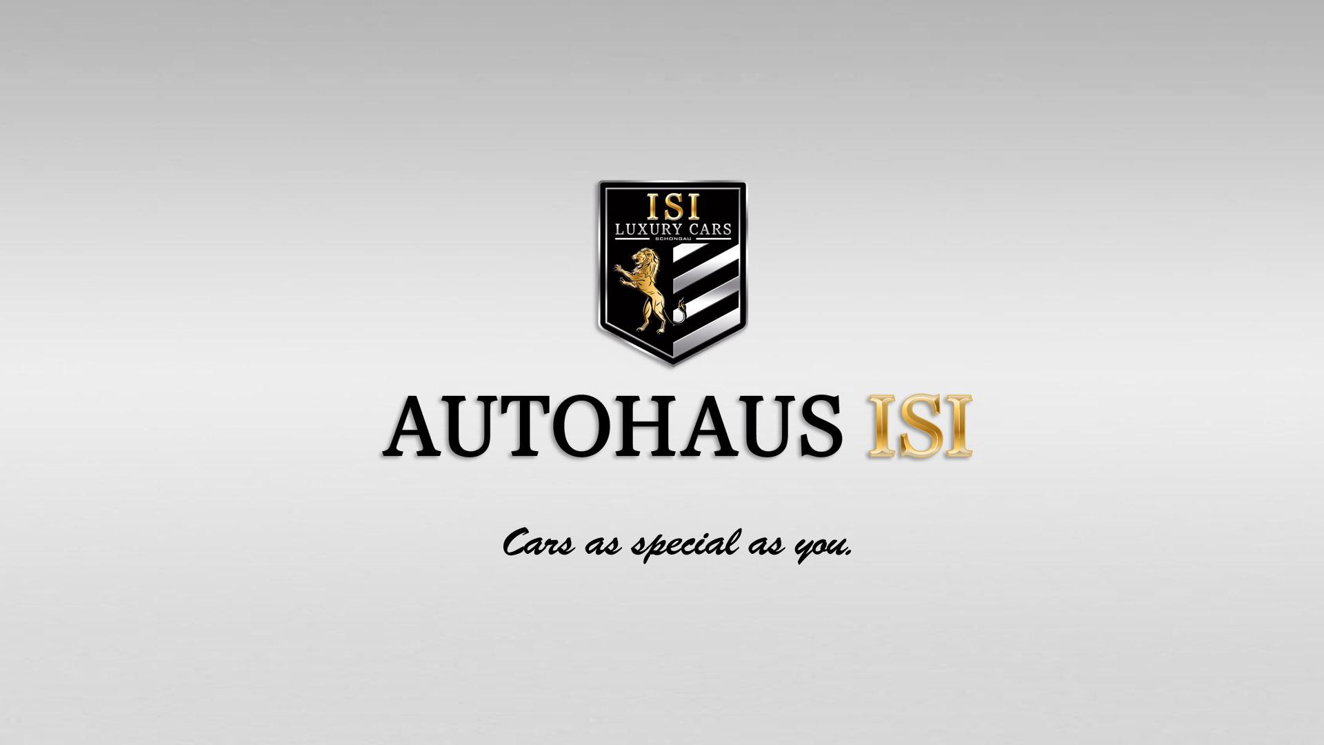 Autohaus ISI - Logo Konzept und Design