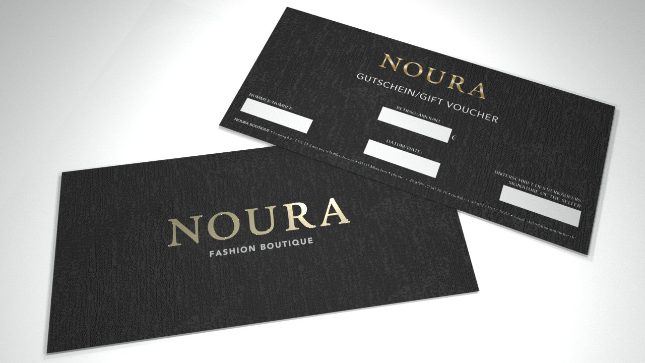 NOURA Fashion Boutique - Gutschein/Gift Voucher