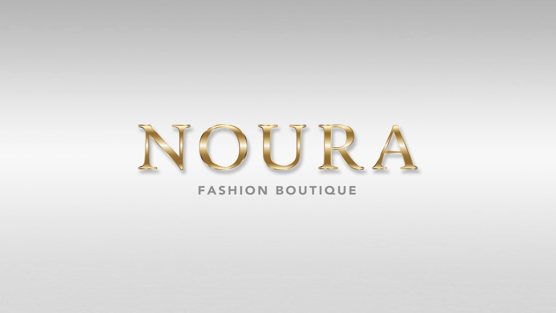 Logo - Konzept und Design - NOURA Fashion Boutique