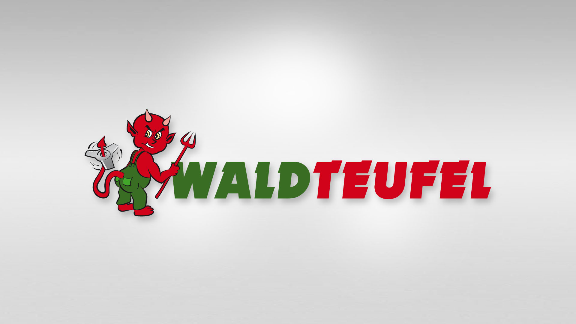 Logo Waldteufel - Logo Comic-Zeichnung, Illustration