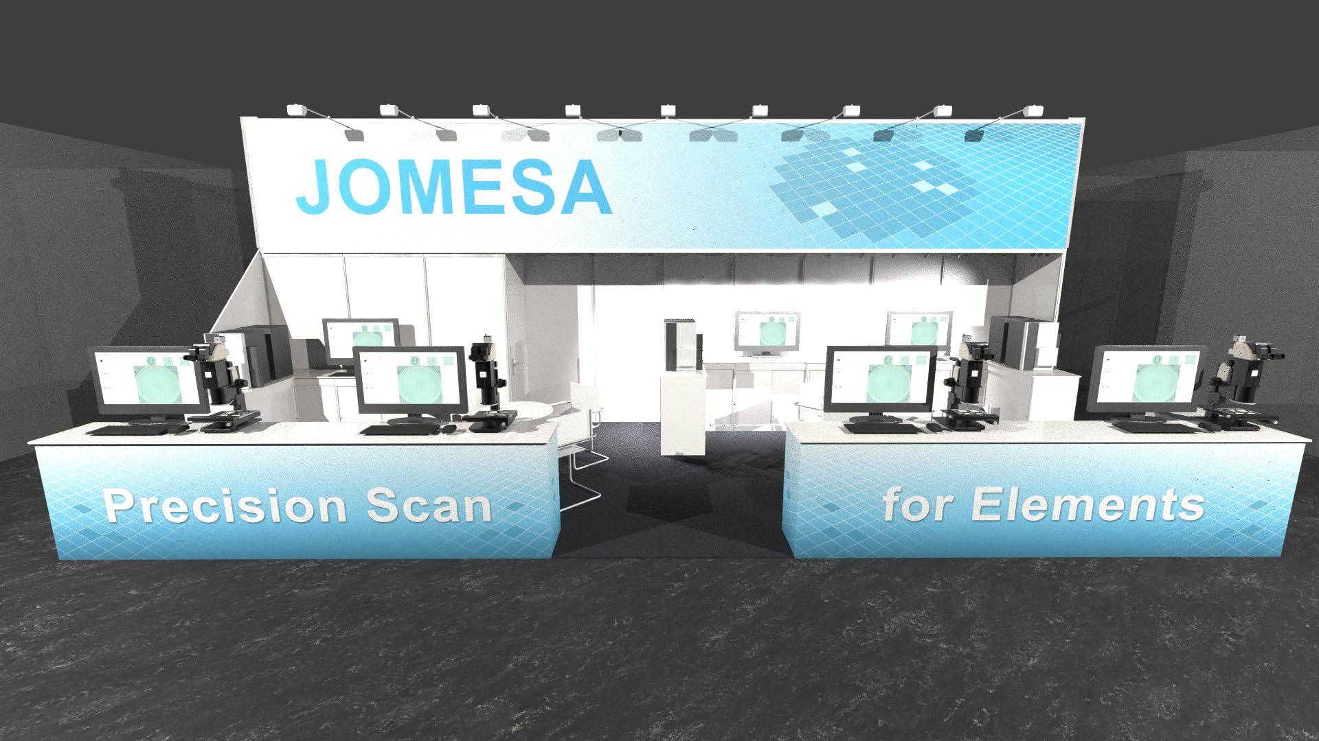 JOMESA Messestand PTC 2019 - 3D-Ansicht 4